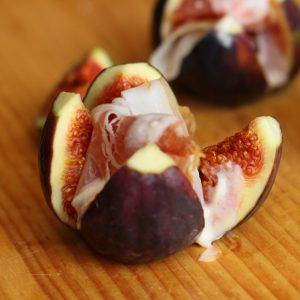 Fig and Prosciutto Snack