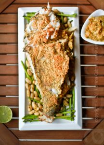 Sri Lankan stuffed fish